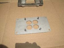 Homemade RAT ROD 471 Supercharger Blower Top Plate 4V WCFB Carburetor Adapter