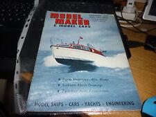 MODEL MAKER & MODEL CAR MAGAZINE February 1962
