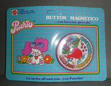 MATTEL Vintage POOCHIE Magnetic Button Con Freccina Girevole NEW NO. 8602 1986