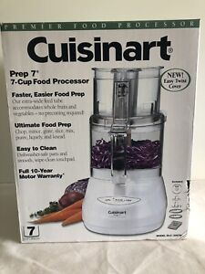 Cuisinart DLC-2007N Y Prep 7 Premier 7-Cup Food Processor (White) New