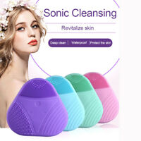 Cleansing Brush Ultrasonic Electric Silicone Face Skin Care Washing Instruments