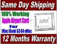 Apple Airport Wireless Card ** 100% Working ** For iMac iBook G3 G4 eMac