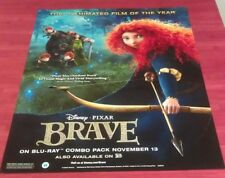 BRAVE DVD MOVIE POSTER 1 Sided ORIGINAL MINI 22x28 EMMA THOMPSON