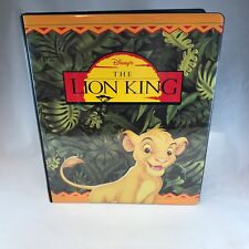 BINDER SALE: ALBUM FOR THE LION KING DISNEY Movie Cards by Skybox 1994