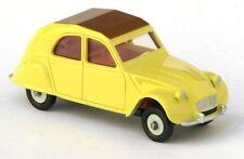 Voitures, camions et fourgons miniatures jaunes Dinky pour Citroën