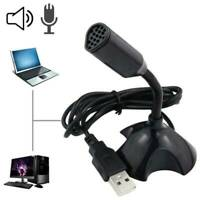 Universal Stand Mini USB Desktop Microphone Mic For PC Desktop Laptop MacBook