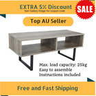 Industrial Entertainment Unit Black - TV Stand / Coffee Table / Living Room