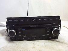 08-10 Dodge Chrysler Jeep  Radio 6 Cd Changer  Dvd Mp3 05064922AG BF19