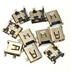 10pcs Micro Size USB 8Pin Female SMT Socket Charger Connector Gold Durability