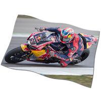 """Nicky Hayden Flag Banner 30"""" NEW MotoGP Honda Red Bull 69 The Kentucky Kid #1"""