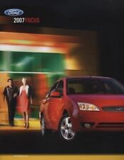 2007 Ford Focus and ST 20-page Original Car Sales Brochure Book Catalog