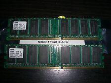 SAMSUNG M368L1713DTL-CB0 PC2100 128MB DDR CL2.5