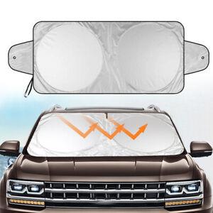 Folding Car Front Window Windshield Sun shade Auto Visor Block Cover Protector