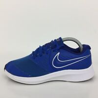 Nike Star Runner 2 Blue Textile Run Trainer Sneaker AQ3542-400 Women UK 5 Eur 38