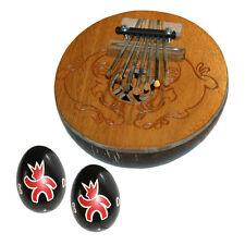 Coconut Kalimba Thumb Piano with Free Egg Shakers