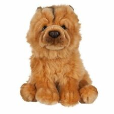 Adorable Chow Chow Soft Plush Puppy Stuffed Animal Toy Realistic Dog Kids Gift