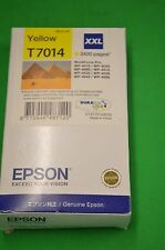 Epson T7014 XXL Yellow Ink Cartridge Workforce Date Dec 2018