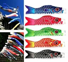 X1 Random Japanese Koinobori Carp Wind Sock Anime Fish Flag Windsock Koi Gift