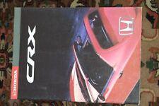 Honda CRX , Prospekt , 38 Seiten !