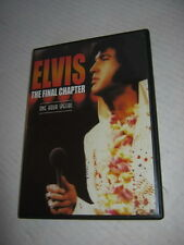 ELVIS THE FINAL CHAPTER, ONE HOUR SPECIAL, DVD