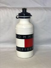Tommy Hilfiger Flag Specialized Cycling Pull Top White Water Bottle Made in USA