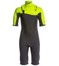Billabong Youth 202 Foil Fl Chest Zip Spring Suit Wetsuit Size 14 (Boys) NWT