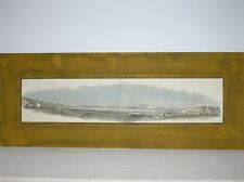 NEW Zealand: Panorama of Port Nicholson/Wood-Engraving