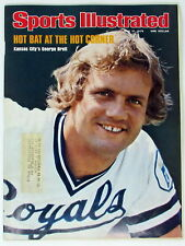 Sports Illustrated June 21, 1976 --  George Brett -- Hot Bat at the Hot Corner