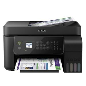 Epson WorkForce ET-4700 MultiFunction Copy Scan Fax InkJet Printer with WiFi