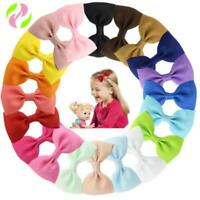 20Pcs Snap Bow Tie Hair Clip Hairpin Barrette Headwear Accessories For Baby Girl