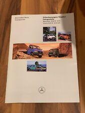 Mercedes Benz Prospekt Transporter Pritschenwagen Kipper Sprinter / Vario 1997