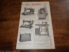 1900.catalogue publicité machine à coudre New Home.
