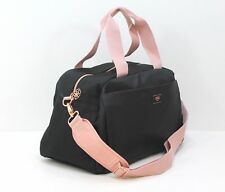 Hugo Boss Ladies Pink and Black DESIGNER Gym Bag Casual Overnight Weekend Travel