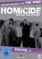 NED BEATTY/DANIEL BALDWIN/+-HOMICIDE:STAFFEL4,3DVD TV-SERIE ACTION&THRILLER NEU