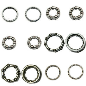 10pcs Mountain Bike Ball Bearing Cage Wheel Headset Crankshaft Cycling Accessory