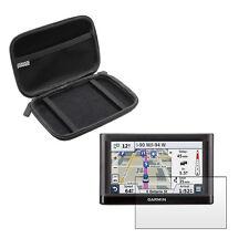 5'' Inch Portable Case Bag + Screen Protector For Garmin Nuvi 55 ( LM LMT )