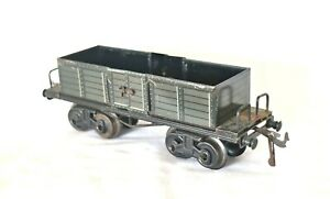 AB245: Vintage Bing O Gauge Material Freight Wagon with Opening Doors 10489/0