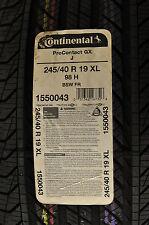 24540R19CPROGX.CONTINENTAL ALL-SEASON TIRE $269.95 EACH.1550043 98H.