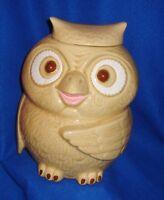 """Vintage Ceramic 11"""" Owl Cookie Jar"""