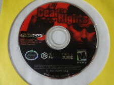 EUC  Dead To Rights - Nintendo Gamecube Disc Only Free Ship