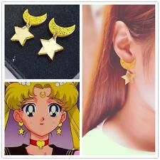Japanese Anime Cospaly Sailor Moon Harajuku Cute Kawaii Star Earrings Ear Clips