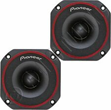 "PIONEER TS-B350PRO CAR AUDIO STEREO 250W 3.5"" BULLET TWEETERS SPEAKERS PAIR SET"