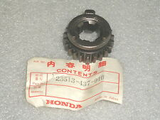 1979-1981 Honda XL125S XL 125 Trans Countershaft Top Gear 22T NOS 23513-437-010