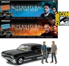 SDCC 2016 exclusive SUPERNATURAL CHEVY IMPALA 1:18 diecast car w/ 4 figures NYCC