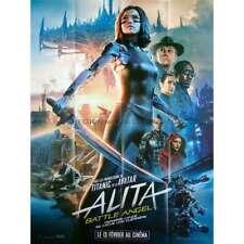 ALITA BATTLE ANGEL MOVIE POSTER 2 Sided ORIGINAL INT/'L REGULAR NM 27x40