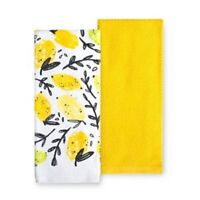 CITRUS MANOR 2 Pack Kitchen Towels by Food Network