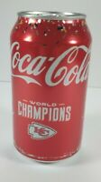 2020 NFL Super Bowl World Champions Kansas City Chiefs limited Coca-Cola 1 can