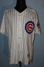 Vintage Russell Chicago Cubs Sammy Sosa Sewn White Jersey 52