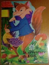 LE AVVENTURE DI FOX 1^ ed. 1970 MALIPIERO