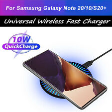 Qi Wireless Fast Charger Pad Dock For Samsung Galaxy Note 20/10+ S20/S9 Ultra 5G